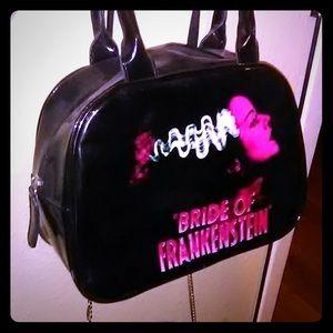 Handbags - Rock rebel bride of Frankenstein purse